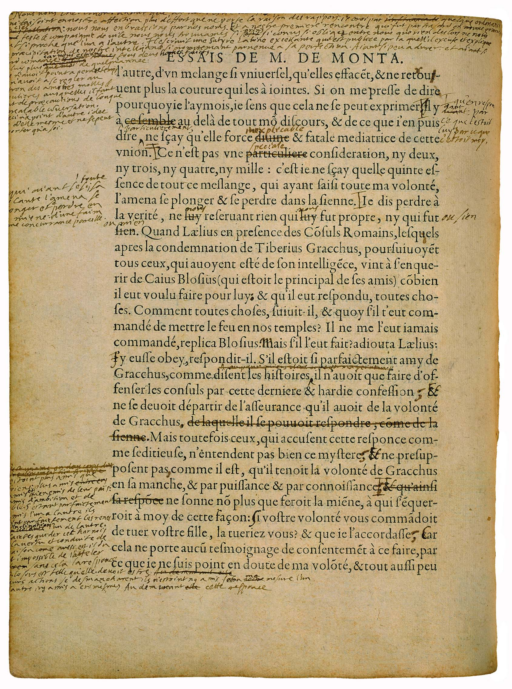 michel de montaigne essays of idleness