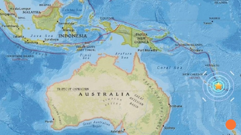 Αποτέλεσμα εικόνας για νεα καληδονια χαρτης