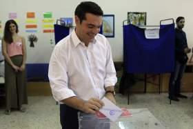 Στην Κυψέλη ψηφίζει ο πρωθυπουργός