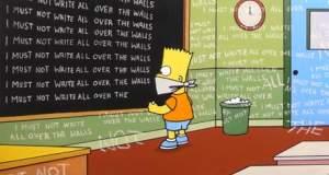 Ο Banksy σκηνοθετεί τους τίτλους αρχής των Simpsons