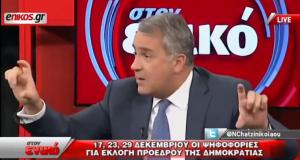 Ο πολιτικός κίνδυνος του ΣΥΡΙΖΑ... Τραγουδά ο Μάκης Βορίδης (βίντεο)