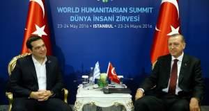 Τα αγγλικά Ερντογάν - Τσίπρα για τη γραβάτα: Γουέρ ιζ κραβάτ; - Κραβάτ; νεξτ τάιμ...