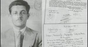 Ο Άρης Βελουχιώτης με κοστούμι στον απόρρητο φάκελο του στην Ασφάλεια [ΦΩΤΟΓΡΑΦΙΕΣ]