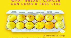 Δώδεκα λεμόνια προειδοποιούν για τα συμπτώματα του καρκίνου του μαστού