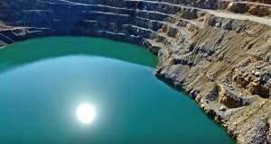 Ένα drone… ταξίδι στη «λίμνη των ανατινάξεων»