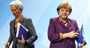 Μέρκελ, Γιούνκερ και Λαγκάρντ κάνουν... «Tαμείο». Μένει ή φεύγει το ΔΝΤ;