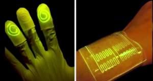 «Ζωντανά» γάντια λάμπουν όταν έρχονται σε επαφή με τοξικά