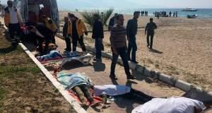 Παιδιά και γυναίκες στους νεκρούς του προσφυγικού ναυαγίου στο Κουσάντασι [ΦΩΤΟ]