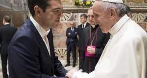 Τσίπρας: Οι ευχαριστίες του Πάπα για την προσφορά της Ελλάδας με γέμισαν υπερηφάνεια