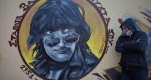 «Σταθάρα, βασικά καληνύχτα σου»: Ένα υπέροχο γκράφιτι στη Ν. Φιλαδέλφεια για τον Στάθη Ψάλτη [ΦΩΤΟ]