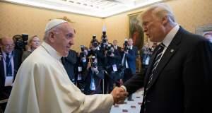 Ο Τραμπ στον Πάπα
