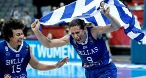 Crazy Girls: Στους «4» του ευρωμπάσκετ τα κορίτσια της Ελλάδας