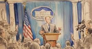 Το CNN «τρολάρει» τον Λευκό Οίκο, στέλνοντας… σκιτσογράφο στις συνεντεύξεις Τύπου