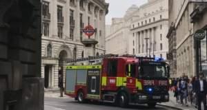 Συναγερμός για φωτιά σε σιδηροδρομικό σταθμό στο Λονδίνο