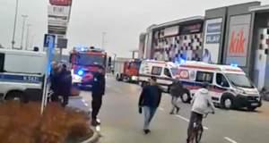 Επίθεση με μαχαίρι σε εμπορικό κέντρο στην Πολωνία - Μία νεκρή, 8 τραυματίες [BINTEO]