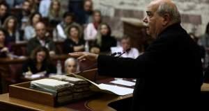 Ο Βούτσης αποκάλυψε πιέσεις των δανειστών για αφαίρεση αρμοδιοτήτων από τη Βουλή