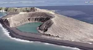 Καρέ-καρέ η δημιουργία του νεότερου νησιού στον κόσμο [ΒΙΝΤΕΟ]