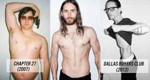 Ηθοποιοί που κατέστρεψαν το σώμα τους για έναν ρόλο [ΦΩΤΟ]