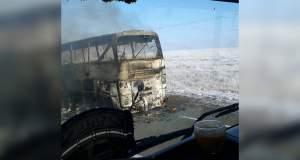 Μεγάλη τραγωδία στο Καζακστάν: 52 άνθρωποι κάηκαν ζωντανοί μέσα σε λεωφορείο [ΒΙΝΤΕΟ]