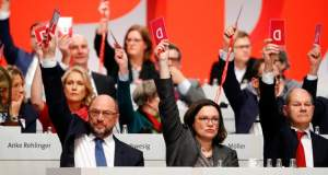 Το SPD ενέκρινε τη συμμετοχή σε διαπραγματεύσεις για «μεγάλο» συνασπισμό - Το μήνυμα Τσίπρα
