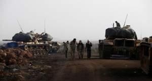 Με γερμανικά άρματα εισέβαλε η Τουρκία στην Συρία