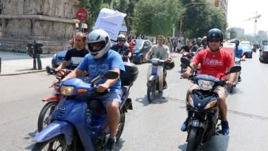 Θεσσαλονίκη: Μοτοπορεία διεκδίκησης από τους διανομείς φαγητού