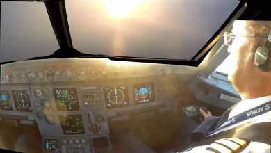 Προσγείωση μέσα από τα μάτια ενός πιλότου [ΒΙΝΤΕΟ]