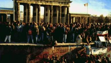 Βερολίνο: η πτώση του Τείχους