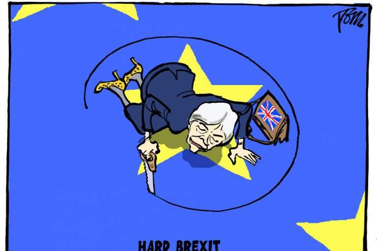 Το «σκληρό» Brexit της Τερέζα Μέι