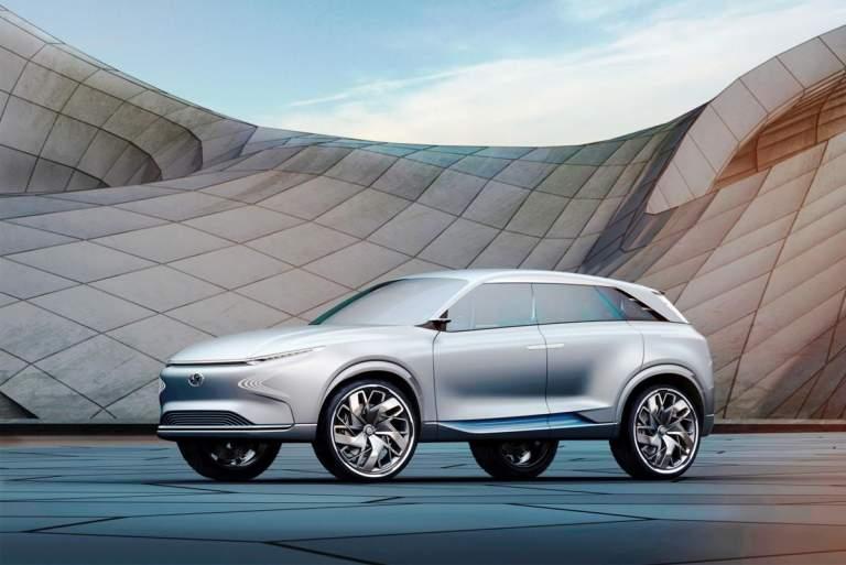 Το φουτουριστικό Hyundai FE Fuel Cell Concept στη Γενεύη