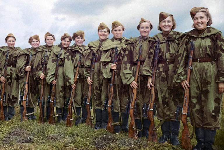 Αποτέλεσμα εικόνας για Οι Ρωσίδες που προκαλούσαν τρόμο στους Ναζί [ΦΩΤΟ]