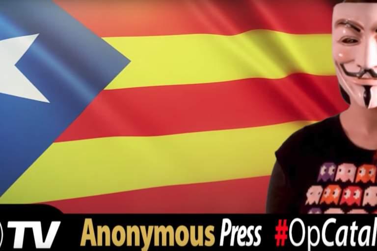 Οι Anonymous «χακάρουν» το ισπανικό κράτος [Βίντεο]