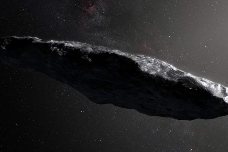 Αστεροειδής ή εξωγήινο διαστημόπλοιο;