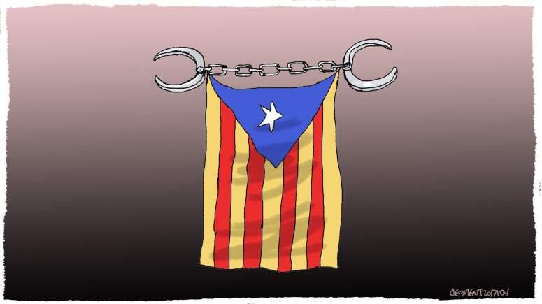 Ψηφίζοντας στην Καταλωνία...