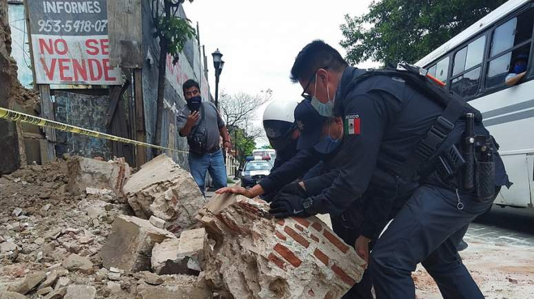 Μεξικό: Νεκροί και καταστροφές από τον ισχυρό σεισμό